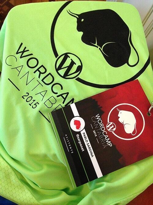 Nuevas experiencias en la Wordcamp Cantabria 2015
