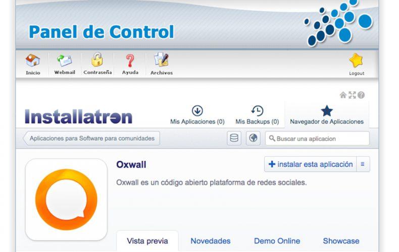¿Cómo instalar la aplicación Oxwall en mi alojamiento?