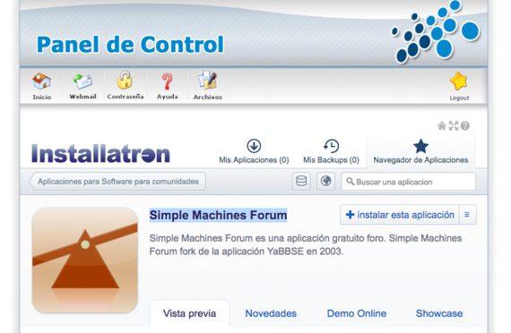 ¿Cómo instalar un foro Simple Machines Forum en mi alojamiento?