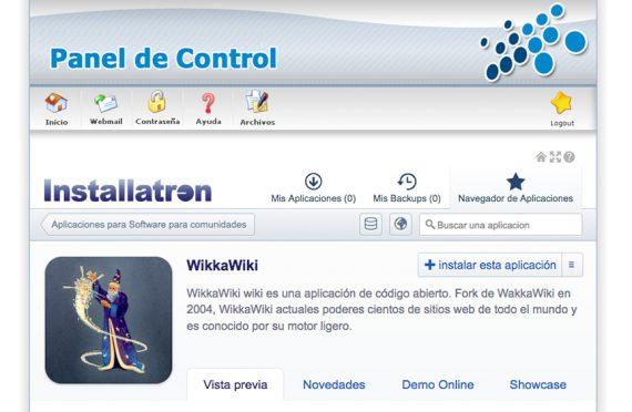 ¿Cómo instalar la aplicación WikkaWiki en mi alojamiento?