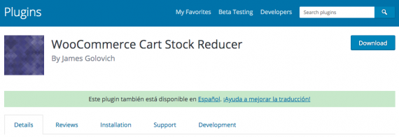 Plugin de WordPress para evitar problemas de stock negativo en WooCommerce