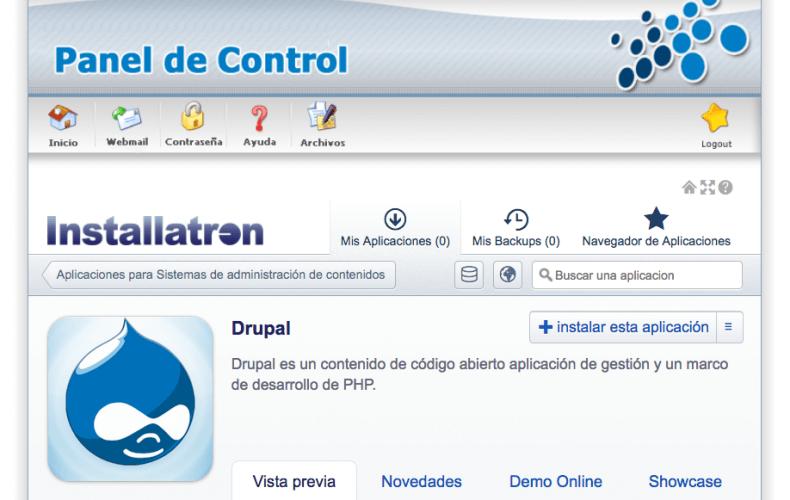 ¿Cómo instalar Drupal en mi alojamiento?