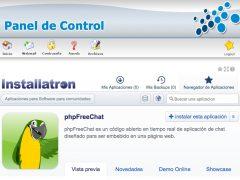 ¿Cómo instalar la aplicación de chat phpFreeChat en mi alojamiento?