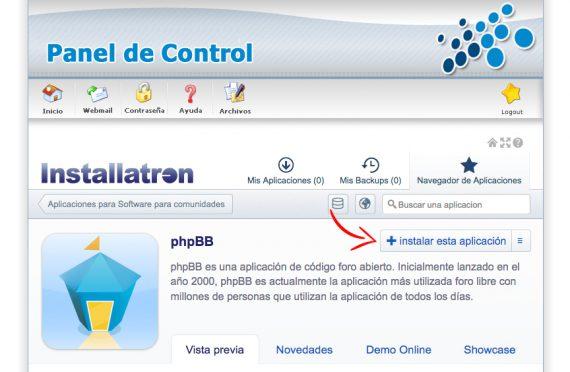 ¿Cómo instalar un foro phpBB en mi alojamiento?