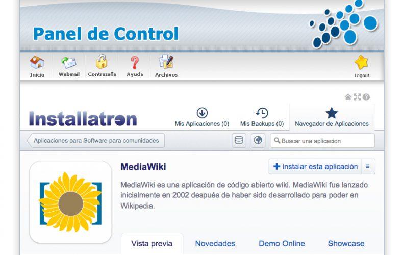 ¿Cómo instalar una Wikipedia con Media Wiki en mi alojamiento?
