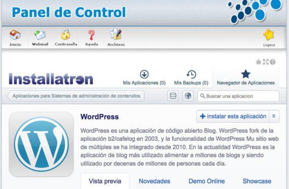 ¿Cómo instalar WordPress en mi alojamiento?