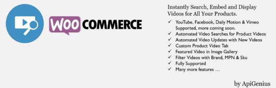 Plugin de WordPress para cambiar la imagen destacada de un producto de WooCommerce por un video