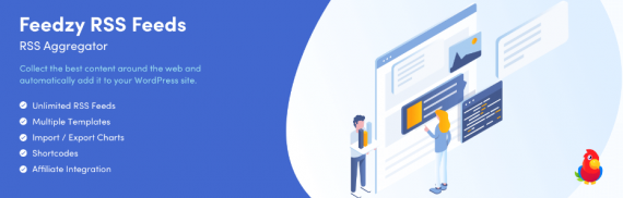 Plugin de WordPress para insertar RSS en WordPress