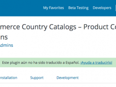 Plugin de WordPress para vender distintos productos según el país en WooCommerce