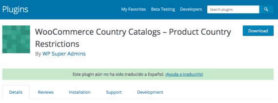 Plugin de WordPress para vender distintos productos según el país en WooCommerce