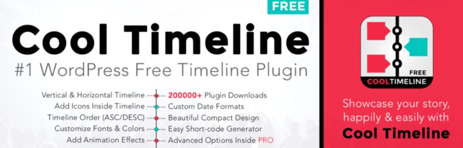 Plugins para hacer timelines en WordPress