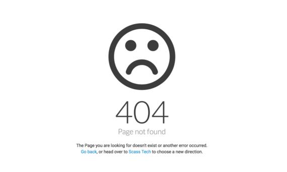 Origen y motivos del Error 404 en nuestra web de WordPress o html