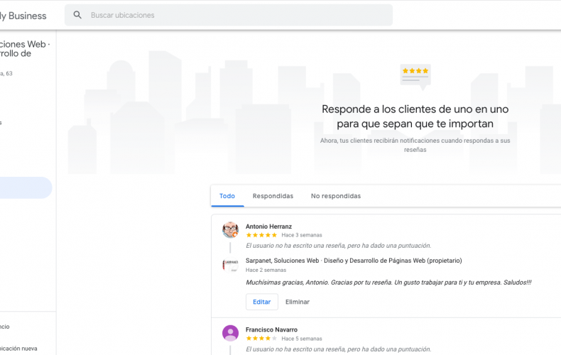 Cómo responder las reseñas de tu Google My Business y por qué debes hacerlo