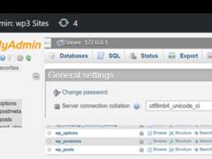 Plugin para acceder al phpMyAdmin desde el propio WordPress