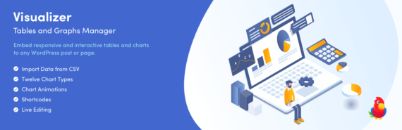 Plugin de WordPress para hacer tablas y gráficos