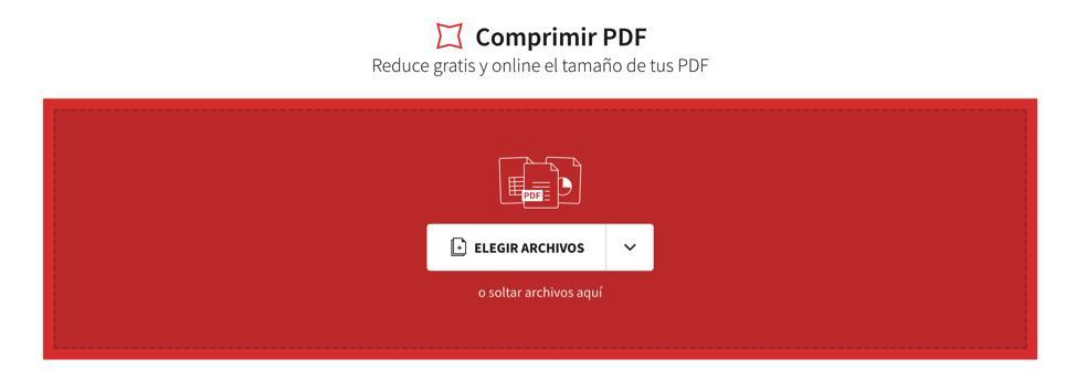 ¿Cómo comprimir un pdf online?