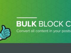 Cómo convertir todas las entradas del editor clásico de WordPress en bloques