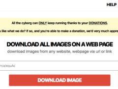 Herramienta para extraer imágenes de una web en zip