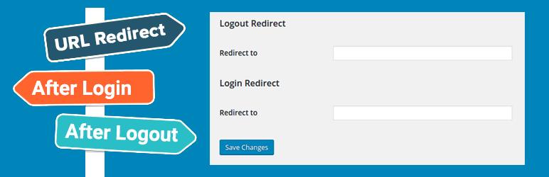 Plugin de WordPress para redirigir al usuario después de login o logout