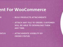 Cómo adjuntar archivos a los productos de un pedido de WooCommerce