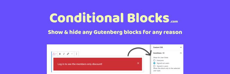Plugin para restringir el contenido de un bloque en WordPress