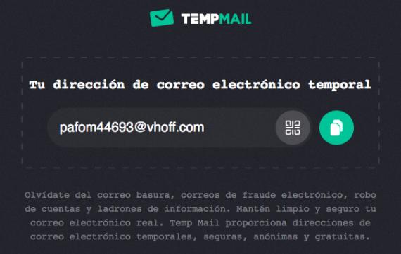 Cómo crear una dirección de correo electrónico temporal