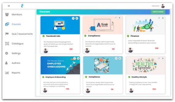 Fresh LMS: Herramienta web para crear y vender cursos online